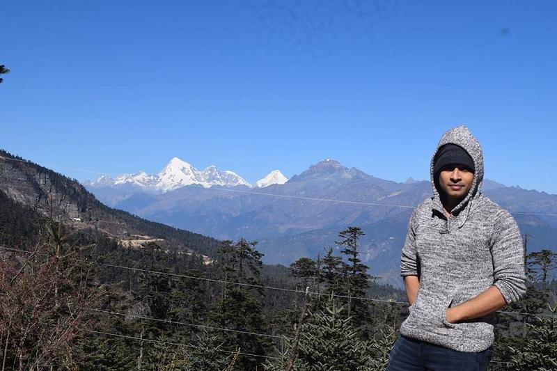 Jomolhari, che le la pass , Bhutan জমলহারি চে লে লা পাস পারো ভুটান