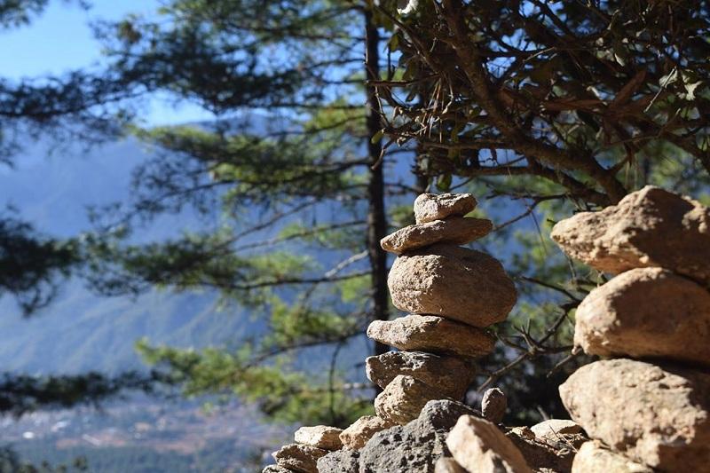 Tiger's nest paro bhutan পাথরের স্ট্যাক, পারো ভুটান, টাইগার্স নেস্ট