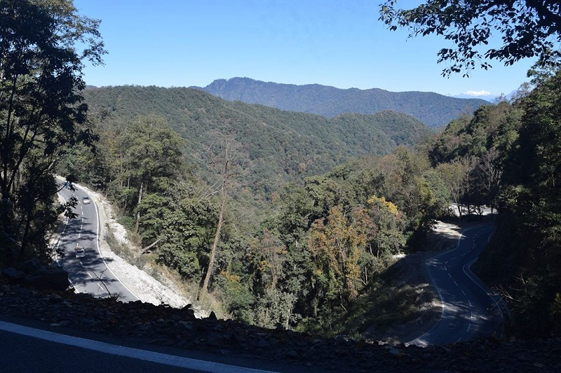 thimpu to punkaha road পুনাখা থিম্পু