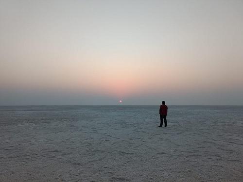 White desert bhuj ahmedabad gujrat rann of kutch