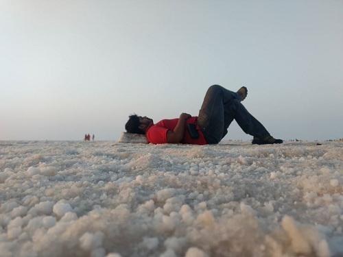 White desert rann of kutch bhuj gujrat