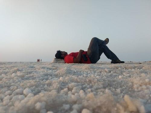 White desert rann of kutch bhuj gujrat