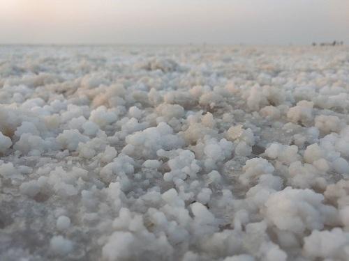 White desert of kutch rann of kutch bhuj gujrat