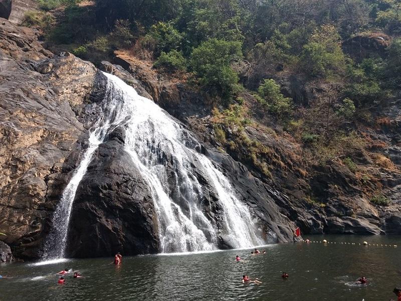 Dudhsagar falls Goa India