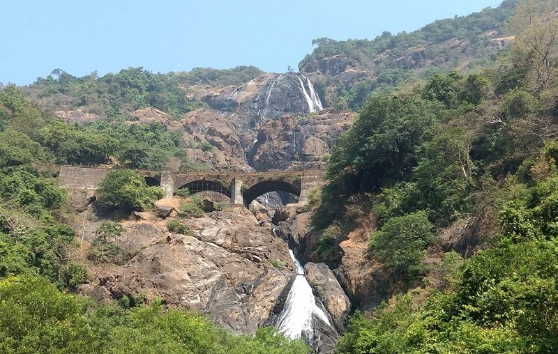 Dudhsagar waterfalls GOa india