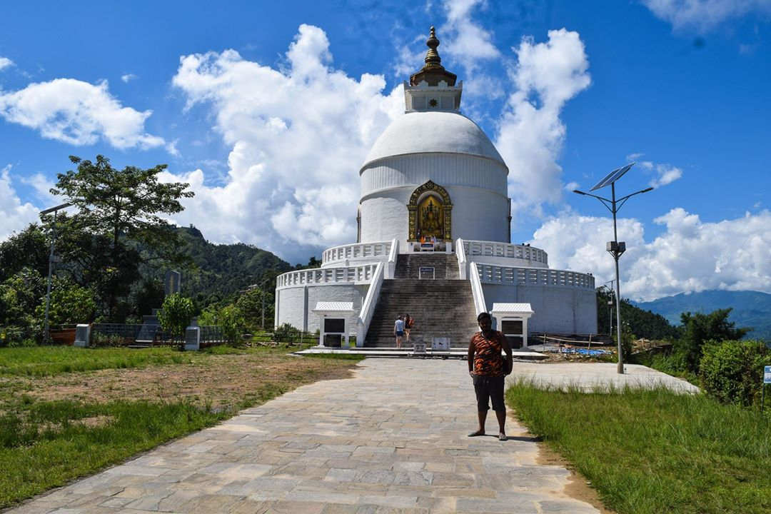 peace pagoda pokhara nepal পিস প্যাগোডা পোখারা নেপাল