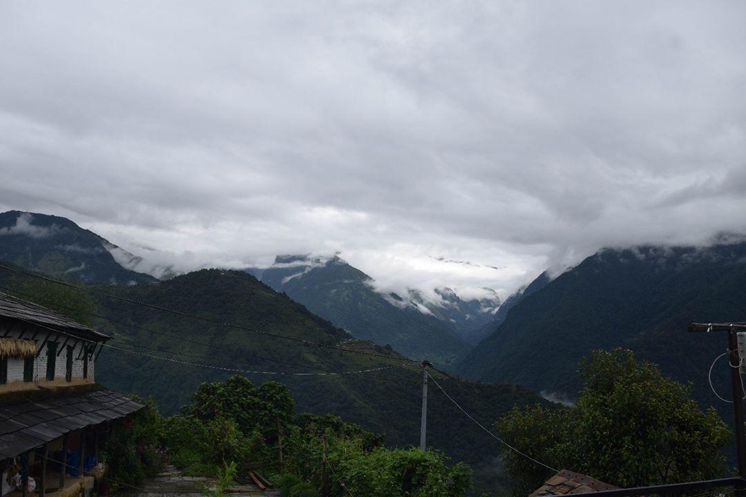 Annapurna south, Ghandruk অন্নপূর্ণা সাউথ, ঘান্দ্রুক
