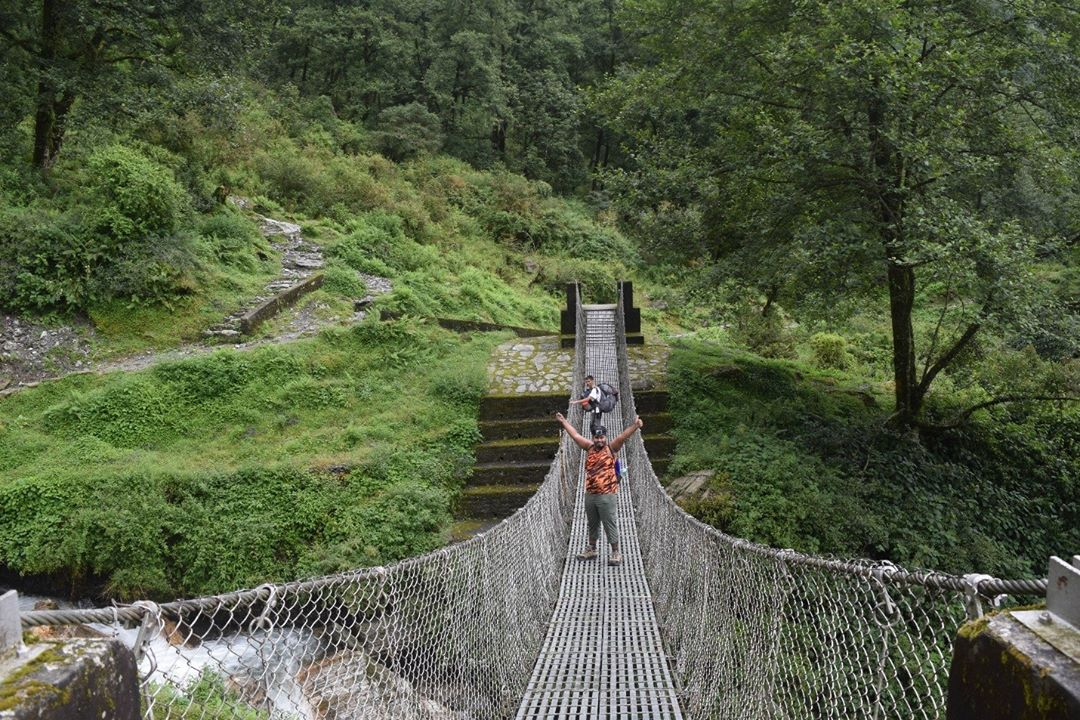ঝুলন্ত ব্রিজ Hanging Bridge