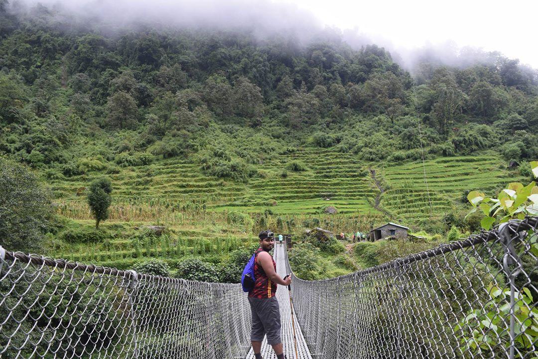 চমরং অন্নপূর্ণা নেপাল Chomrong Annapurna Nepal